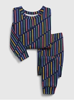 babyGap Stripe Long Sleeve PJ Set
