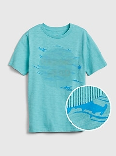 Kids 3D Hologram Graphic T-Shirt