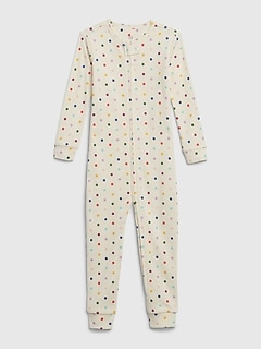 babyGap Polk-a-dot Footless One-Piece