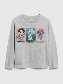 babyGap | DC™ Superhero Flippy Long Sleeve T-Shirt