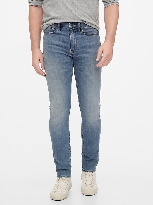 Gap Soft Wear Slim Taper Jeans With Washwell