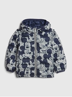 babyGap | Disney Mickey Mouse Upcycled Lightweight Puffer
