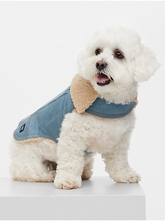 Dog Denim Jacket