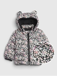 Baby ColdControl Printed Lightweight Puffer Jacket
