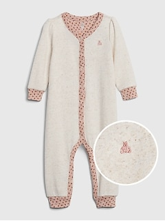 Baby Fleece Long Sleeve One-Piece