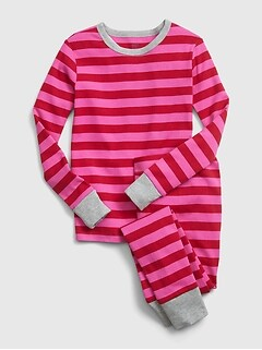 Kids Stripe PJ Set