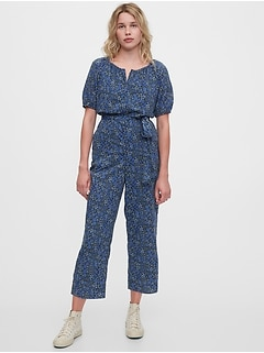 Short Sleeve Raglan Jumpsuit
