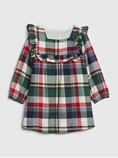 Baby Plaid Dress