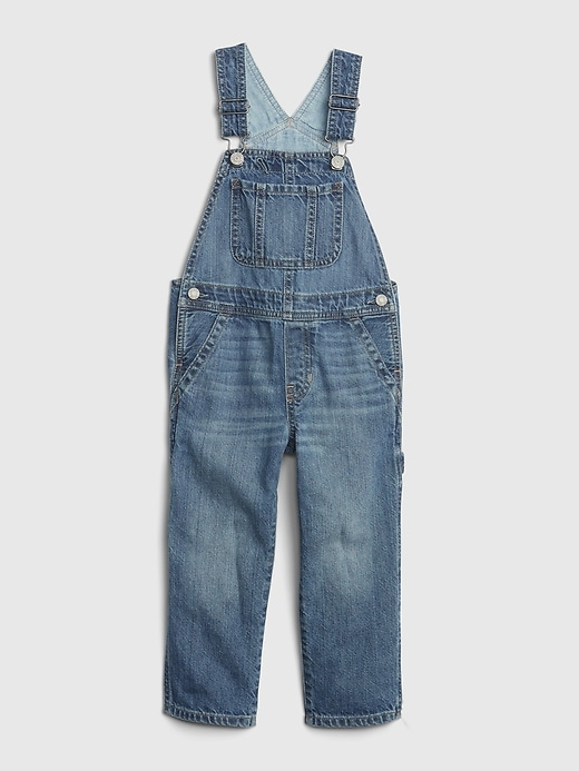Toddler Denim Overalls with Washwell&#153