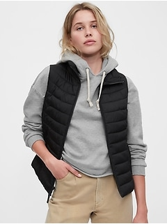 Upcycled Lightweight  Puffer Vest