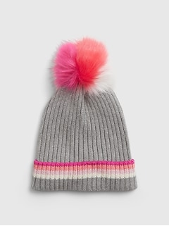 Kids Ribbed Knit Hat