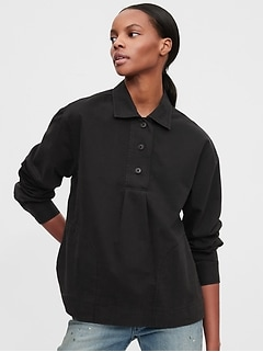 Workforce Collection Popover Shirt