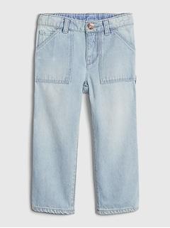 Toddler Carpenter Jeans