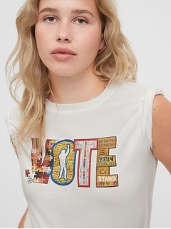 The Gap Collective Women's Vote T-Shirt