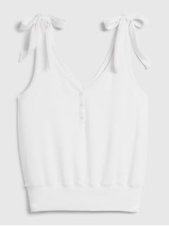 Softspun Tie-Strap Tank Top