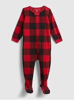 Baby Plaid One-Piece