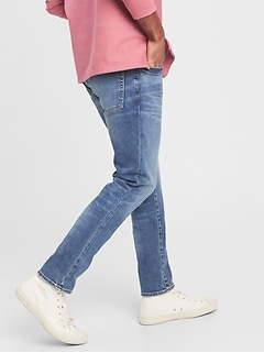 Soft Wear Skinny Jeans With Washwell™