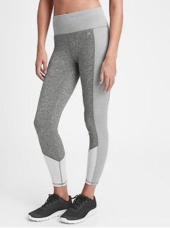 GapFit High Rise Brushed Tech Jersey Leggings
