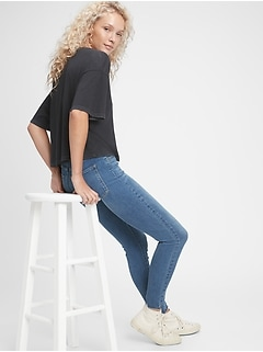 Sky High Rise Universal Jegging with Secret Smoothing Pockets With Washwell™