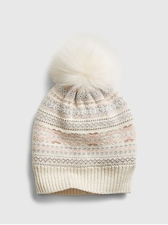 Kids Lurex Knit Hat