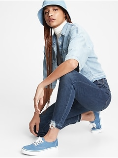 Sky High True Skinny Ankle Jeans With Washwell™
