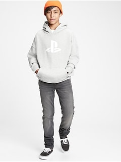 Teen | PlayStation Oversized Graphic Hoodie