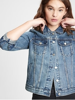 Icon Denim Jacket With Washwell™