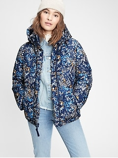 Upcycled Midweight Puffer Jacket