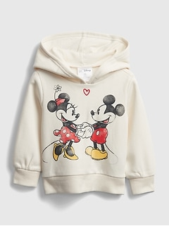 babyGap | Disney Mickey Mouse and Minnie Mouse Graphic Hoodie