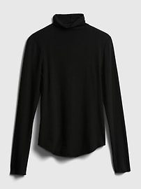Fitted Funnel-Neck T-Shirt