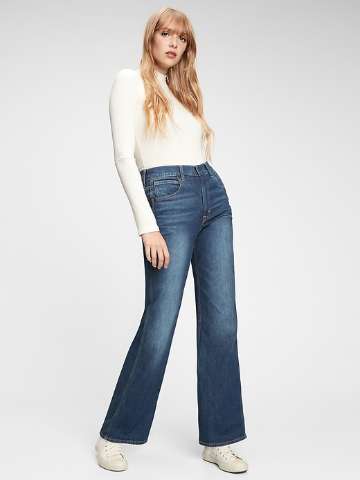 Gap Women's High Rise Vintage Flare Jeans