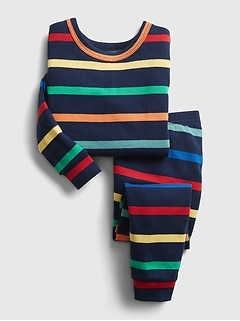 babyGap Happy Stripe PJ Set