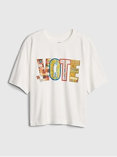 The Gap Collective Teen Girl Vote T-Shirt