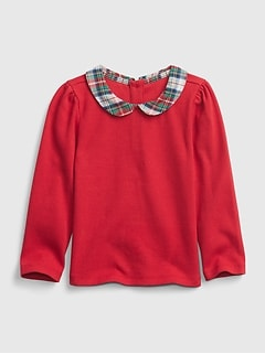 Toddler Collar Shirt