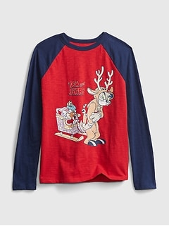 GapKids | Warner Bros Tom and Jerry Graphic T-Shirt