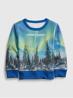 babyGap | National Geographic Recycled Crewneck Sweatshirt