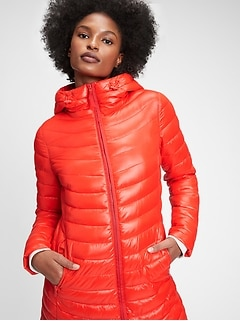 Upcycled Lightweight Puffer Coat