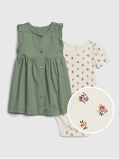 Baby Skirtall Outfit Set