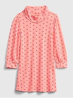 Toddler Softspun Turtleneck Dress