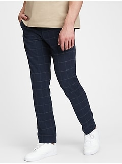 Slim Taper Pants with Gap Flex