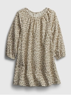 Toddler Leopard Print Dress