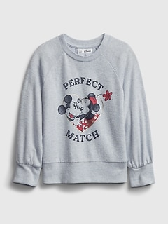 babyGap | Disney Mickey and Minnie Mouse Graphic Softspun T-Shirt
