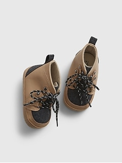 Baby Lace-Up Duck Boots