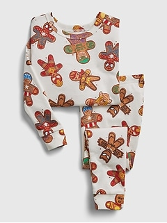 babyGap | Marvel Gingerbread Graphic PJ Set