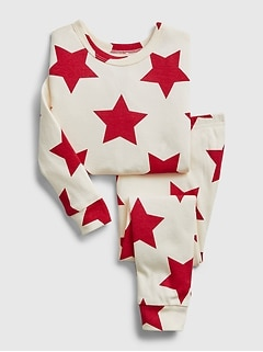 babyGap Star Graphic PJ Set