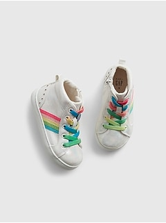 Toddler Rainbow High-Tops