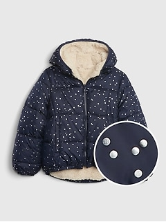Kids ColdControl Max Reversible Puffer