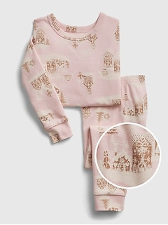 babyGap Gingerbread House Graphic PJ Set