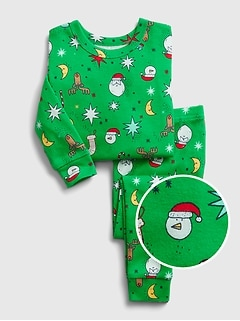 babyGap Christmas Graphic PJ Set