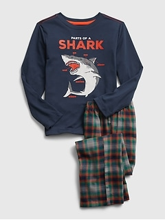 Kids Shark PJ Set